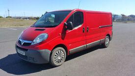 56 plate Vauxhall Vivaro Trafic 2900CDTi LWB Air con NO VAT