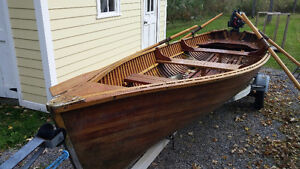 Geisler and Son's wooden boat