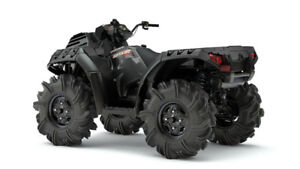 2018 POLARIS SPORTSMAN 850 HIGHLIFTER STEALTH BLACK