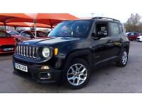 2016 Jeep Renegade 1.4 Multiair Longitude 5dr DDC Automatic Petrol Hatchback