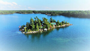 Cottage Vacation Rental - Georgian Bay on Private Island - WOW!