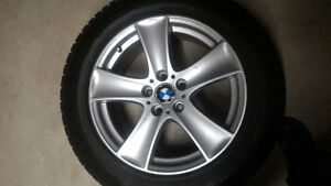 BMW X5 rims and snow tires