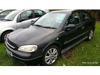 Vauxhall Astra 1.8i 16v 2001 SXi Very good condition