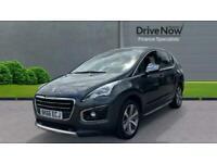 2016 Peugeot 3008 1.2 PureTech Allure (s/s) 5dr SUV Petrol Manual