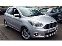 2017 Ford KA Plus 1.2 Zetec 5dr Manual Petrol Hatchback