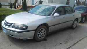 Chevrolet Impala 2004 etested ready for safety