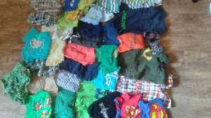 Baby boy clothes lot 18-24 month