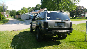 Lifted jeep 2000 OBO