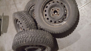 WinterTires with rims for sale London Ontario image 1