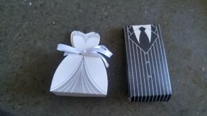 80 Wedding Favor boxes $10.00