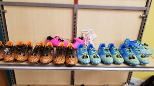 New kids soccer shoes