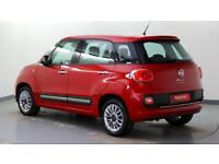 2015 Fiat 500L 1.4 Lounge (95bhp) Petrol red Manual