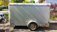 enclosed trailer with barn doors 10 x 6