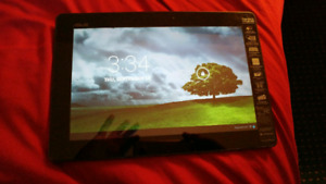 """Asus 10.1"""" quad core tablet w/ charger and case"""