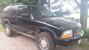 Parting out SUV