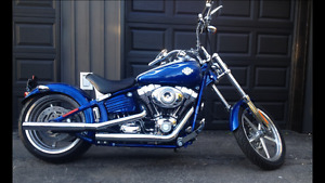 Mint condition 2009 Harley Davidson Rocker C