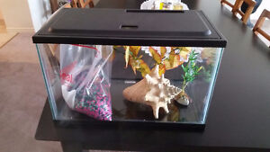 Fish Tank 5 Gal. and Accessories