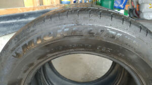 Michelin tires P205/65R15 abt 70% price for two