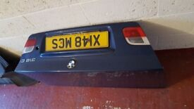 BMW 3 SERIES E46 COUPE REAR BOOT TRUNK LID