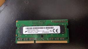 Micron 4GB DDR3 PC3L-12800S 1600mhz RAM