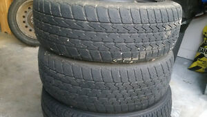 Tires and Rims, Rims 4 bolt, tires worn