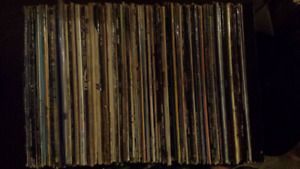 100+ Vinyl Records - No Specified List Provided