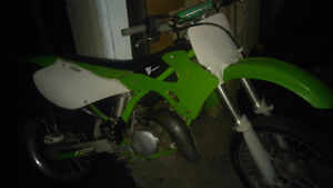 Wiseco piston kx125 for sale 3500 obo