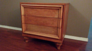 Solid wood chest of drawers (3 drawers) ($30)