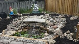 New Pond Install & Pond Re-Builds / FaceLift London Ontario image 3