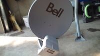Brand new bell satellite dish dp plus all set up and ready to go