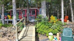 Kids adore this cabin and bunkhouse; parents love the price!