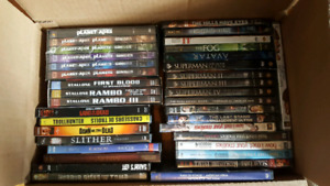Large DVD lot for sale