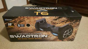 SWAGTRON T6 Off-Road Hoverboard - used once.