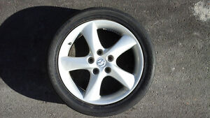 mazda6 rims with 215/50/17 tires and wheels
