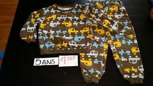 vêtements garçon 5 ans