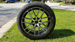 Rims with tires for sale