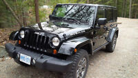 2013 Jeep Wrangler RUBICON UNLIMITED 6 SPD