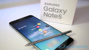 Samsung Galaxy Note 5, bnib condition, comes with otter box defe