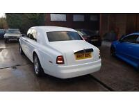 Wedding Car Hire - Rolls Royce Phantom Car Hire Chauffeur Driven Corporate Event