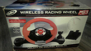 Wireless racing wheel & assc.