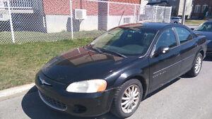 Chrysler Sebring Sedan LX 2001