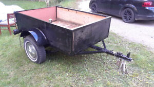 Utility Trailer 6 x4 ft