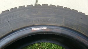 "4x 14"" Winter tires - Toyo - 1 season old - 175  65/R14"
