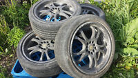 18 bsa rims and tires