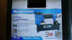 New Mastercraft Pin Nailer
