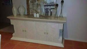 Fossil Stone Buffet with Marble Narre Warren South Casey Area Preview