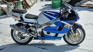 99 gsxr fully rebuilt and polished