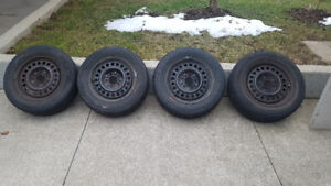 "15"" All-season tires and Rims 5x115 P205/60/ R15"