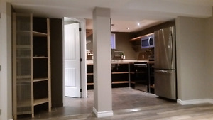 Modern Professionally suited 1bdrm Basement Suite *Must See*