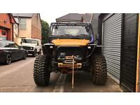 Land Rover 90 Defender Trayback OFF ROAD, Monster challenge Truck PX Swap